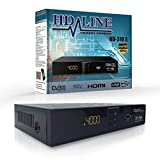 HD-LINE HDMI Receiver Satellit HD Digitaler Satelliten Receiver HDMI DVB S2 Receiver für Sat...