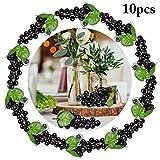 JUSTDOLIFE Künstliche Trauben Dekorative Gefälschte Früchte Tischdekoration Früchte Hängende...