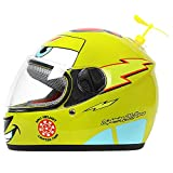 AH&Y Kinder Motorradhelm Skateboard Jet Helm Full Face Motorradhelm Jethelm Moped Helm Chopper...