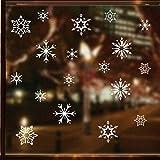 Moent Women Clothes Home Decor White Schneeflocke Weihnachten Wandaufkleber Home Decor Aufkleber...