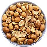 KERN FAMILIE Erdnüsse 1Kg geröstet ohne Salz, 1000 Gramm frische Erdnuss-Kerne, 1 Kilogramm Großpackung ungesalzener naturbelassener Erdnusskerne ohne künstliche Zusätze, ohne Öl geröstet