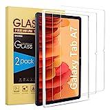 SPARIN 2 Stück Panzerglas Schutzfolie Kompatibel mit Samsung Galaxy Tab A7 2020 mit Montagerahmen, Displayschutzfolie