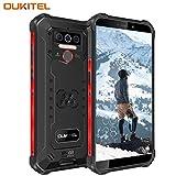 OUKITEL WP5 (2020) Outdoor Smartphone Ohne Vertrag, 4G Dual SIM IP68 wasserdichter,8000mAh Akku...