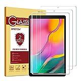 OMOTON [2 Stück] Panzerglasfolie für Samsung Galaxy Tab A 10.1 (2019) T510 und T515,mit [2.5D...