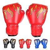 FUMEI Kinder Boxhandschuhe, Kickboxhandschuhe mit Klettschluss Klein Box-Handschuhe für Kinder von...