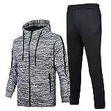 BEIXUNDIANZI Herren Trainingsanzug Sportanzug | Jogging Anzug | Hoodie-Sporthose | Jogging-Anzug...