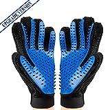 RIGHTWELL [Upgrade-Version] Hundesalon Handschuh Deshedding Brush Handschuh - Haustier Haarentferner...