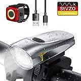 LIFEBEE Neueste Modell LED Fahrradlicht Set, StVZO Zugelassen USB Fahrradbeleuchtung Aufladbar...
