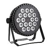 Master&Slave LED-Scheinwerfer, 220 V, 200 W, 18 LEDs, RGBW, 4 Farben, Steuerung Auto/Vox/DMX...
