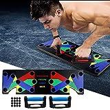 JingYing 9-In-1-Liegestütz-Trainingsgerät, ABS-Bauchmuskel trainingsgerät, Fitnessgeräte für...