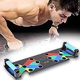 PElight Faltbares 9-in-1-Push-Up-Board, Umfassende Fitnessgeräte für Körpermuskeltraining,...