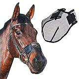 Fliegenschutz Für Pferde Atmungsaktiv Fliegenfester Pferdenasenfilter Horse Fly Mask Schutz Der...