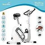 skandika Ergometer Hometrainer Elskling, Auswahl aus verschiedenen Sätteln, Magnetbremssystem, 11...