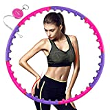Aoweika Hula Hoop Reifen für Fitnessübungen, Magnetische Massage Hula Hoops für Erwachsene,...