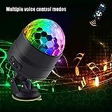 BSTUB Disco-Kugel-Lichter, tragbar, drehbar, USB, LED, DJ, Stroboskoplicht, Soundaktiviert, RGB,...