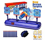 SeAi Elektro-Target, Satkago Auto-Reset-Digital-Targets Kompatibel für Nerf Guns,...