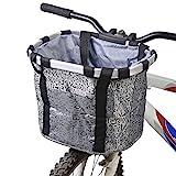 Csatai Fahrradkorb Vorne Faltbare Abnehmbare Wasserdichte Fahrrad Gepäckträger Korb Pet Carrier...