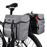 ICOCOPRO Fahrrad Doppeltasche, Double Bag, Gepäckträgertasche, Satteltasche,Seitentasche,...