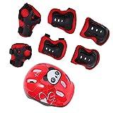 Tomaibaby Kindersportschutzausrüstung Knie-Ellbogen-Handgelenkpolster für Fahrrad Fahrrad...