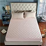 NHhuai Atmungsaktive Matratzenauflagen Baumwolle - Matratzen Rutschfester Matratzenbezug aus Baumwolle