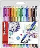 Filzschreiber - STABILO pointMax - 12er Pack - 12 Farben
