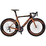 SAVADECK Phantom3.0 Carbon Rennrad 700C Kohlefaser Rennräder Fahrrad mit Shimano Ultegra 8000 22...