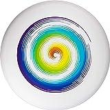 Eurodisc Ultimate Frisbee 175g Rainbow wettkampfharte Wurfscheibe mit Stabiler Flugbahn über 100...
