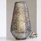 CherryKelly ATMOSPHÄRISCHES BODENBAUMLICHT Plata aus Metall Kerzenhalter Windlicht 46cm hoch Antik...