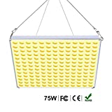 Roleadro 75W LED Pflanzenlampe Vollspektrum, LED Grow Light Pflanzenlicht Led Grow Lamp für...