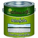 Grünwalder Betonfarbe Bodenfarbe premium Fassadenfarbehoch-elastische und hochlichtecht für den...