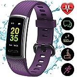 [Aktualisierte 2020 Version] Fitness Armband mit Pulsmesser,IP68 Wasserdicht Smartwatch...
