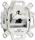 Rutenbeck UAE-Cat6A Up 0 UAE-CAT.6A ISO-8 UP0 136104030 Datendose 1xRJ45 500Mhz Metallisch