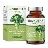 Brokkoli Kapseln mit Sulforaphan I Brokkolisprossen Extrakt mit Piperin Hochdosiert I Original von BROKUSAN (120 Kapseln)