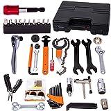 COZYROOMY Fahrrad Reparatur Werkzeug Set - Fahrrad Werkzeugkoffer, Fahrradwerkzeugset für Fahrrad...