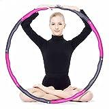 nadamuSun Schaum Fitness Übung Hula-Hoop, Der ursprüngliche Schaumstoff gepolstert Ebene,...
