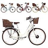 FISCHER E-Bike Retro ER 1804, verschiedene Farben, 28 Zoll, RH 48 cm, Vorderradmotor 25 Nm, 36 V...