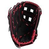 Wilson A360 Baseballhandschuh für Rechtshänder, 30,5 cm, Schwarz/Rot