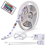 B.K.Licht LED Strip 5m, LED Stripes, Lichterkette, Band, Streifen, LED Leiste, LED Lichtleiste, LED...