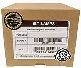 IET Lampen – für Panasonic PT-LC76U Projektorlampe, Ersatz für Original-Ushio NSH Glühbirne...