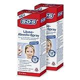 SOS Läuse-Abwehr-Spray, vorbeugendes Spray zur Abwehr von Kopfläusen, bis zu 12 Stunden...