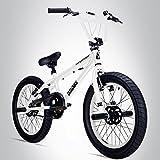 Bergsteiger Tokyo 20 Zoll BMX, Fatbike, 360° Rotor-System, Freestyle, 4 Stahl Pegs, Kettenschutz,...