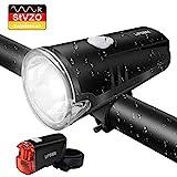 LIFEBEE LED Fahrradlicht, Batterie Fahrradbeleuchtung StVZO Zugelassen Frontlicht und Rücklicht...