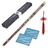 ammoon Steckbare Bitter Bambusflöte Dizi Traditionelle Handgemachte Chinesische...