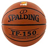Spalding Basketball TF150 DBB Out 83-104z Ball, orange, 7