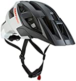 Cratoni Fahrradhelm AllSet, Black-Grey-White Matt, M-L