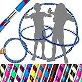 Unbekannt Pro Kids Hula Hoop Reifen für Kleine Erwachsene und Kinder (10 Farben Ultra-Grip/Glitter...