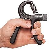 C.P. Sports Premium Fingertrainer - Federgriffhantel 10-40 kg verstellbar, Unterarmtrainer,...