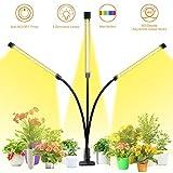 LED Pflanzenlampe, GLIME Pflanzenlicht Vollspektrum 30W 60 LEDs Grow Lampe 3 Arten Lichtmodus 5...