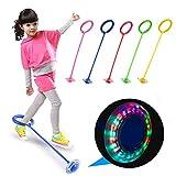 HHY-B Knöchel Flash-Sprungball Kinder Outdoor Fun Sport Spielzeug LED Kinder Springen Ring springen...