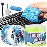 Camelize Tastatur Reinigungsgel,2 Stück Super Clean Gel,Keyboard Cleaner,Universal Cleaning Gel...